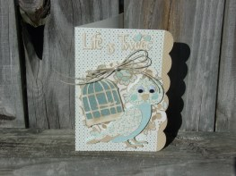 Life is Tweet - Four Legged Friends, Just Because Cards, Straight from the Nest (DCWV's Linen Closet Paper)